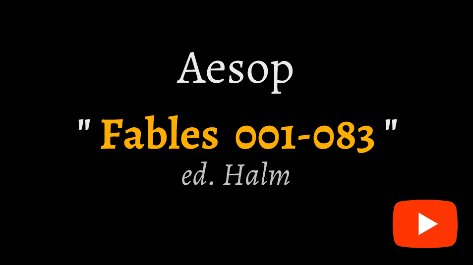 video sample of Aesop's Fables 1-83 on YouTube