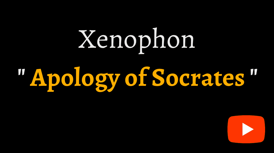 video sample of Xenophon's Apology of Socrates on YouTube