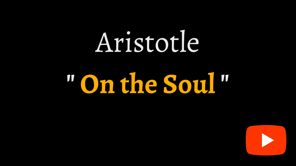 video sample of Aristotle's 'On the Soul' on YouTube