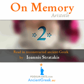 audiobook On Memory and Recollection, part of Parva Naturalia by Aristotle