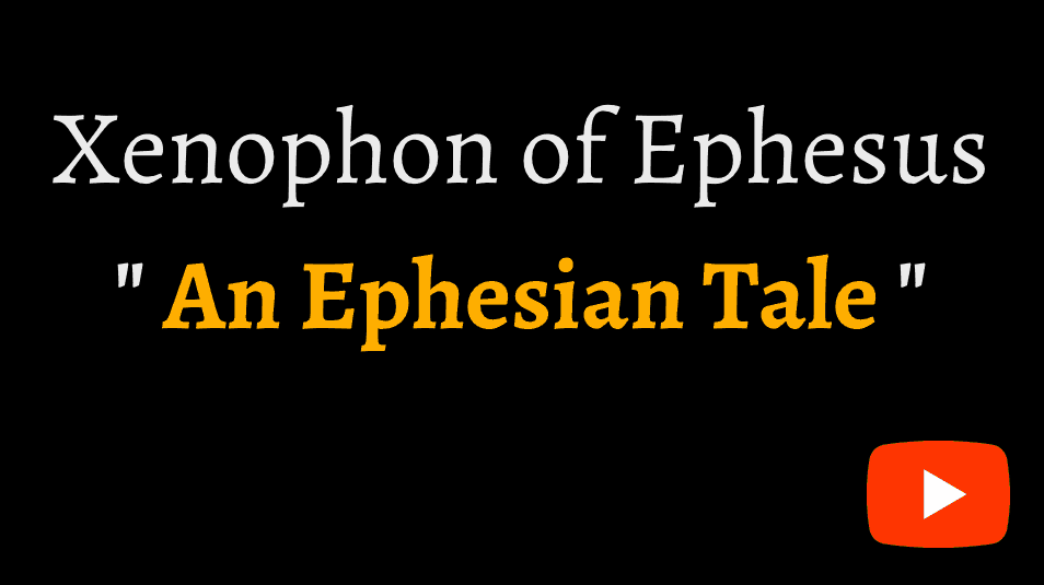video sample of Xenophon of Ephesus 'An Ephesian Tale' on YouTube